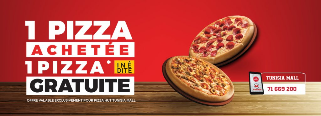 offre Tunisia Mall pizza hut Tunisia