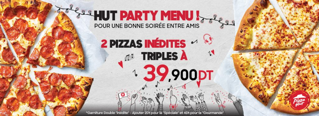 Party deal Pizza Hut-